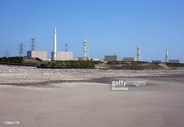 Chubu Electric Power Co's Hamaoka nuclear power station stands in Omaezaki city Shizuoka prefecture Japan on Sunday May 8 2011 Japan's Prime Minister...