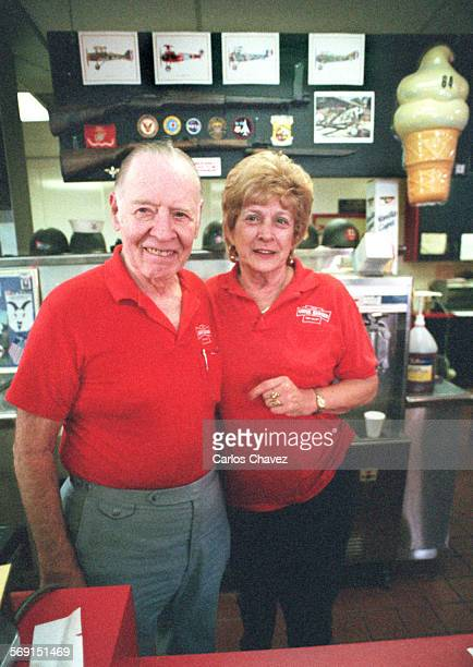 Chuck and Vi Bresler are retiring from the burger buiness closing down their USS Chuck Burger in Simi Valley