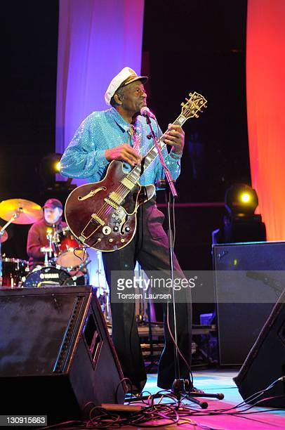 Chuck Berry in concert on March 27 2008 in Gran Canaria Spain