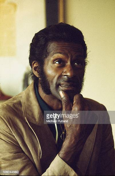 Chuck Berry portrait London 1976