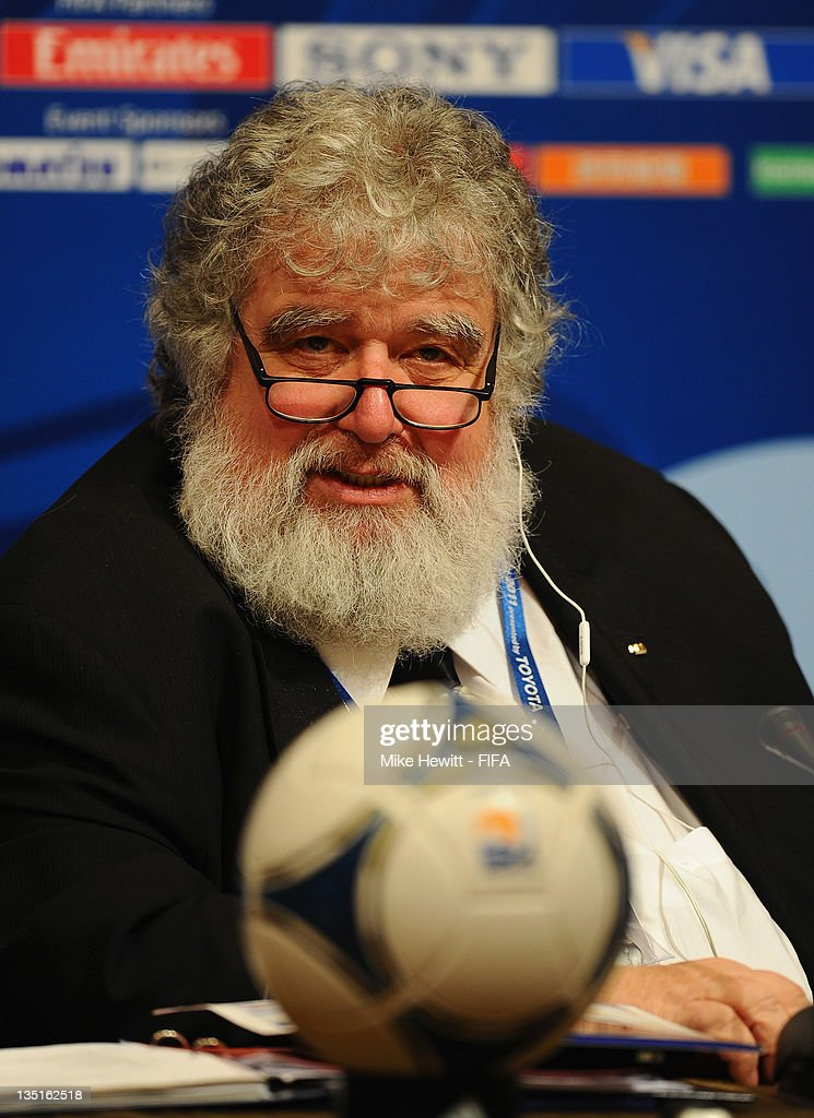 FIFA Club World Cup Organising Committee Press Conference - FIFA Club World Cup 2011 : News Photo