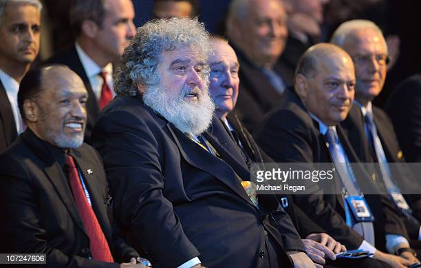 Chuck Blazer of the FIFA Executive Committee looks on during the FIFA World Cup 2018 2022 Host Announcement on December 2 2010 in Zurich Switzerland