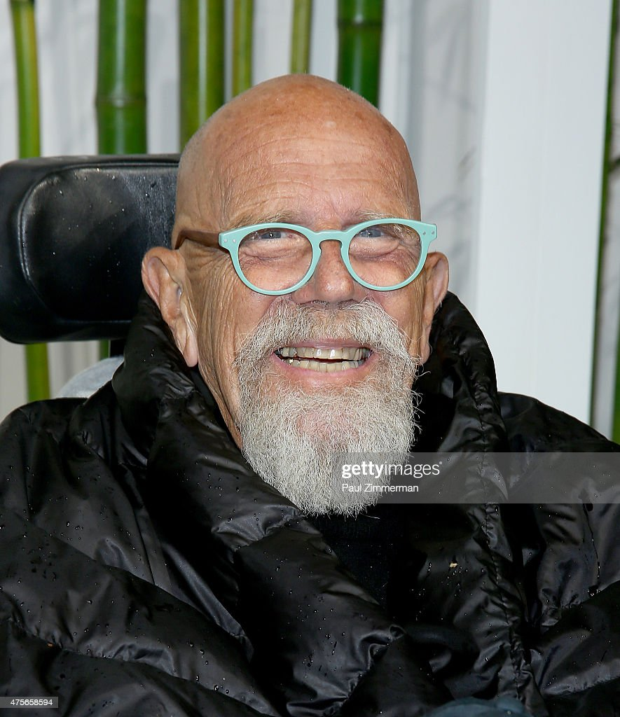 Chuck Close attends the 2015 Museum of Modern Art Party In The Garden and special salute to David Rockefeller on his 100th Birthday at Museum of Modern Art on June 2, 2015 in New York City.