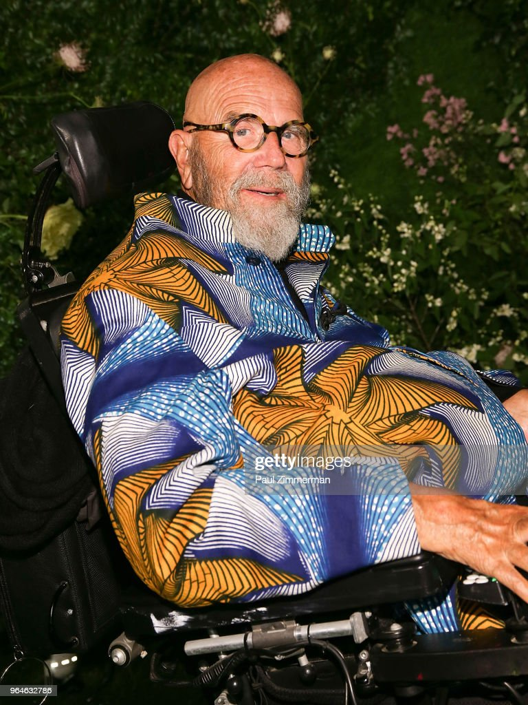 Chuck Close attends the 2018 MoMA Party In The Garden at Museum of Modern Art on May 31, 2018 in New York City.