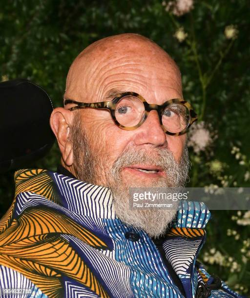 Chuck Close attends the 2018 MoMA Party In The Garden at Museum of Modern Art on May 31 2018 in New York City