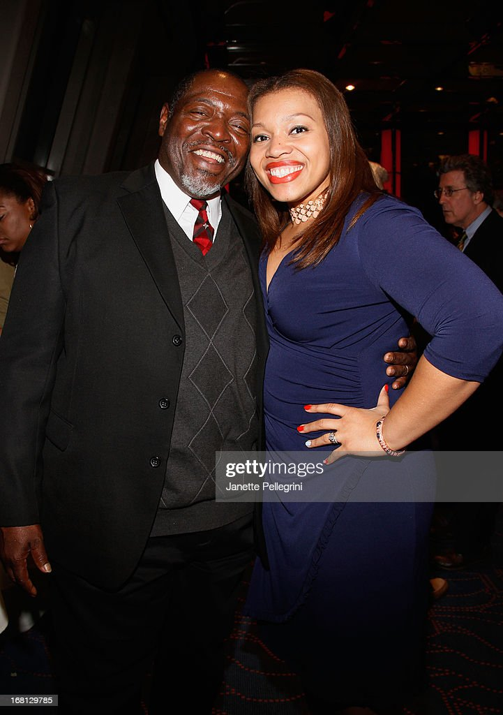 Chuck Cooper and guest attend the 28th Annual Lucille Lortel Awards After Party on May 5, 2013 in New York City.