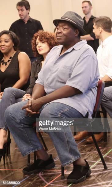 Chuck Cooper attends the Meet Greet for the Manhattan Theatre Club's Broadway Premiere of 'Prince of Broadway' at the MTC Studios on July 20 2017 in...