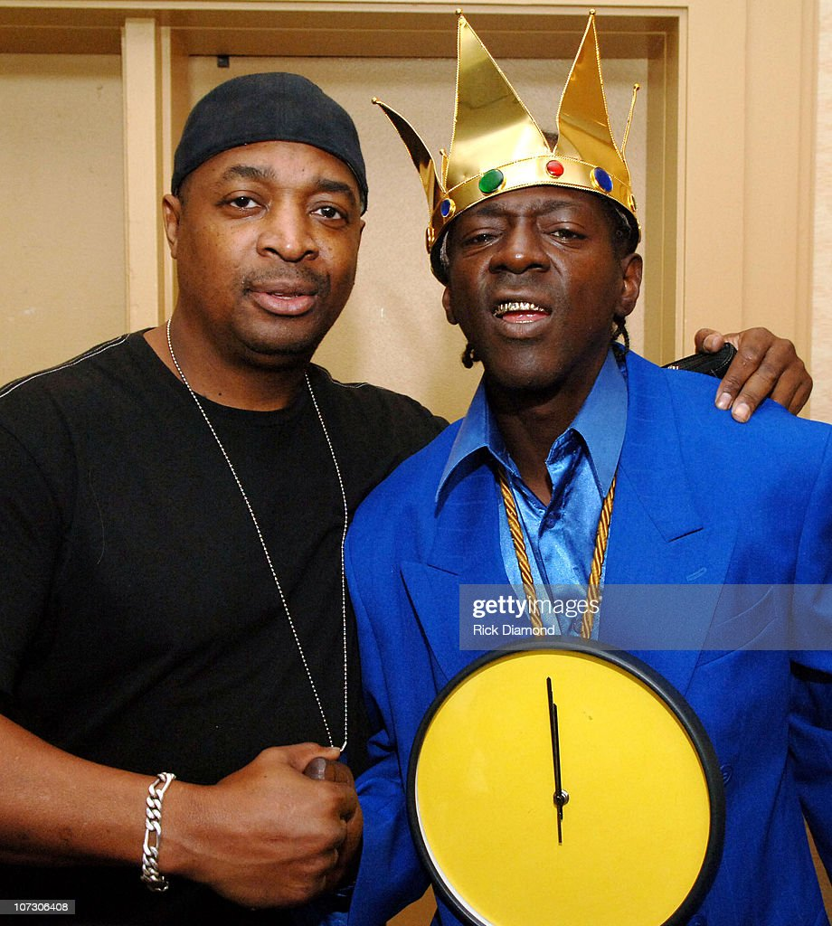Chuck D and Flavor Flav during Billboard R & B / Hip - Hop Conference - Day 3 at Renaissance Waverly Hotel in Atlanta, Georgia, United States.