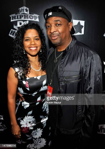 Chuck D and his wife Gaye Theresa Johnson attend the 2009 VH1 Hip Hop Honors at the Brooklyn Academy of Music on September 23 2009 in New York City