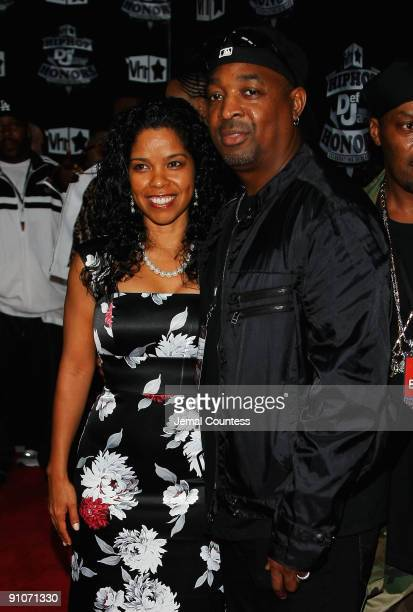 Chuck D and his wife Gaye Theresa Johnson attend the 2009 VH1 Hip Hop Honors at the Brooklyn Academy of Music on September 23 2009 in the Brooklyn...