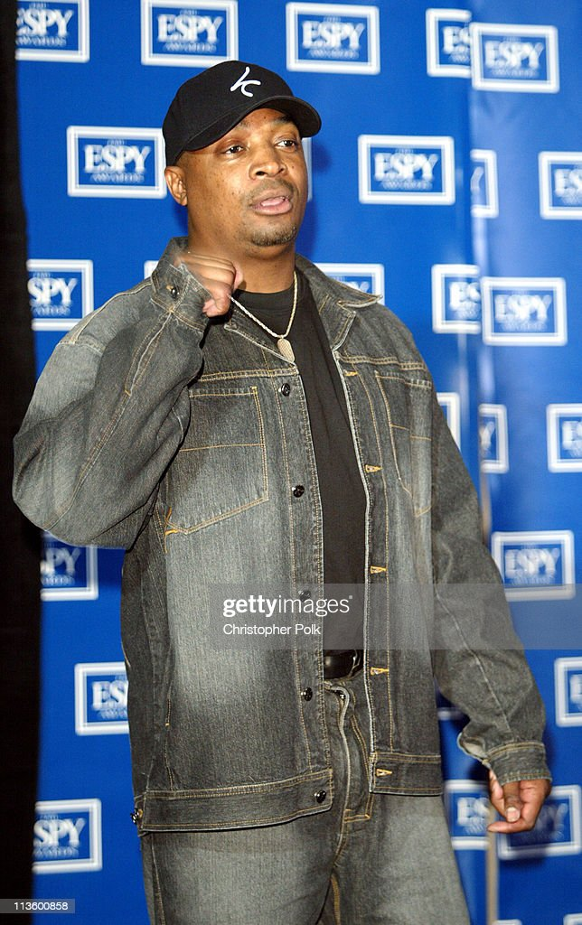 Chuck D during 2003 ESPY Awards - Press Room at Kodak Theatre in Hollywood, California, United States.