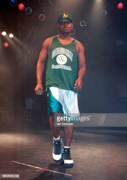 Chuck D of Public Enemy performing on stage at The Forum Kentish Town London 10 July 1995