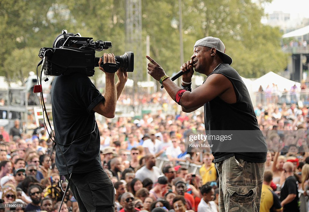 Chuck D performs during the 2013 Budweiser Made In America Festival at Benjamin Franklin Parkway on August 31, 2013 in Philadelphia, Pennsylvania.
