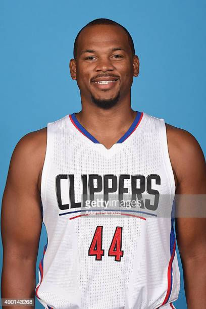 Chuck Hayes of the Los Angeles Clippers poses for a headshot during media day at the Los Angeles Clippers Training Center on September 25 2015 in...
