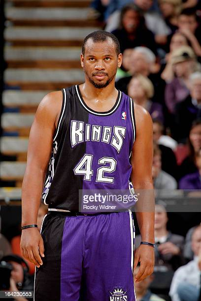 Chuck Hayes of the Sacramento Kings in a game against the Chicago Bulls on March 13 2013 at Sleep Train Arena in Sacramento California NOTE TO USER...