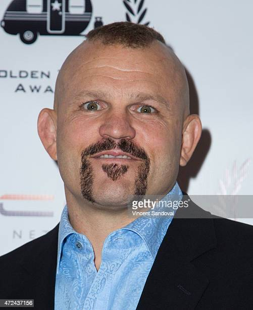 Chuck Liddell attends the 16th Annual Golden Trailer Awards at Saban Theatre on May 6 2015 in Beverly Hills California