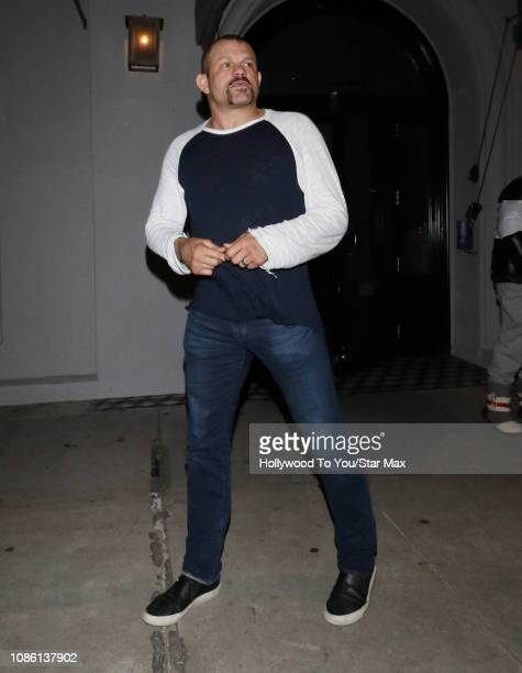 Chuck Liddell is seen on January 21 2019 in Los Angeles CA