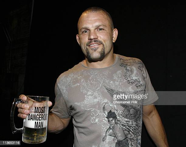 Chuck Liddell, winner Most Dangerous Man award during First Annual Spike TV's Guys Choice - Backstage and Audience at Radford Studios in Los Angeles,...
