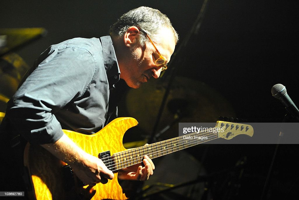 Chuck Loeb of Fourplay performs during day 2 of the Standard Bank Joy of Jazz from Newtown on August 27, 2010 in Johannesburg, South Africa.