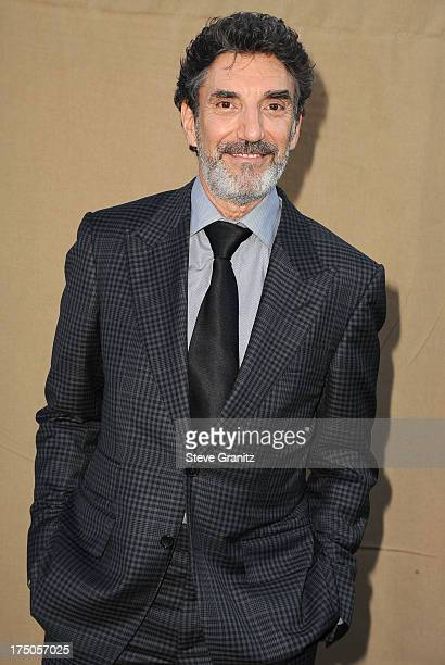 Chuck Lorre arrives at the Television Critic Association's Summer Press Tour CBS/CW/Showtime Party at 9900 Wilshire Blvd on July 29 2013 in Beverly...