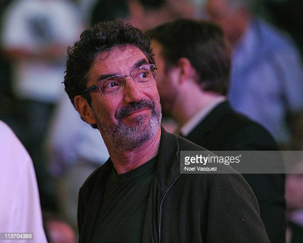 Chuck Lorre attend the game between the Dallas Mavericks and the Los Angeles Lakers at Staples Center on May 4 2011 in Los Angeles California