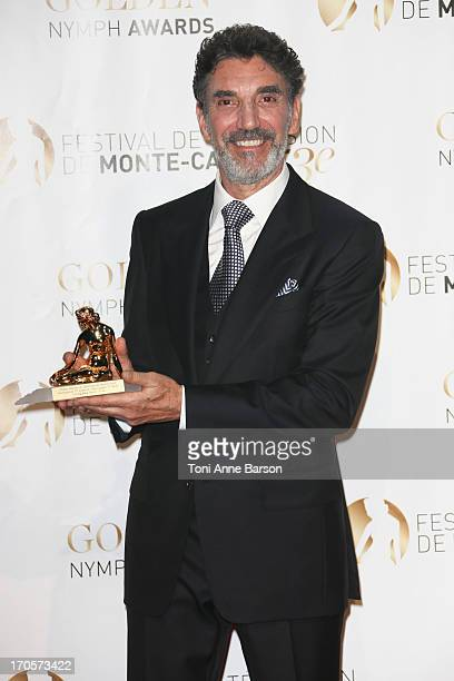 Chuck Lorre attends the closing ceremony of the 53rd Monte Carlo TV Festival on June 13 2013 in MonteCarlo Monaco