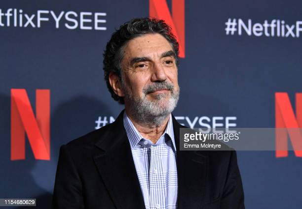 Chuck Lorre attends the Netflix The Kominsky Method FYSEE Event at Raleigh Studios on June 08 2019 in Los Angeles California