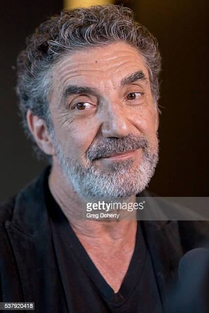 Chuck Lorre attends the Norman Lear And Chuck Lorre Conversation at Writers Guild Theater on June 2 2016 in Beverly Hills California