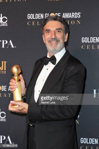 Chuck Lorre attends the official viewing and after party of The Golden Globe Awards hosted by The Hollywood Foreign Press Association at The Beverly...