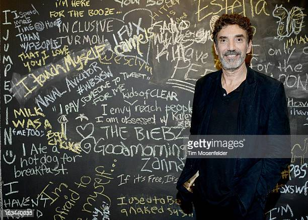 Chuck Lorre poses at the Warner Brothers TV 2013 SXSW party on March 9 2013 in Austin Texas