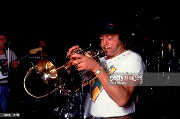 Chuck Mangione performing at Ravinia in Highland Park, Illinois, August 14, 1988.