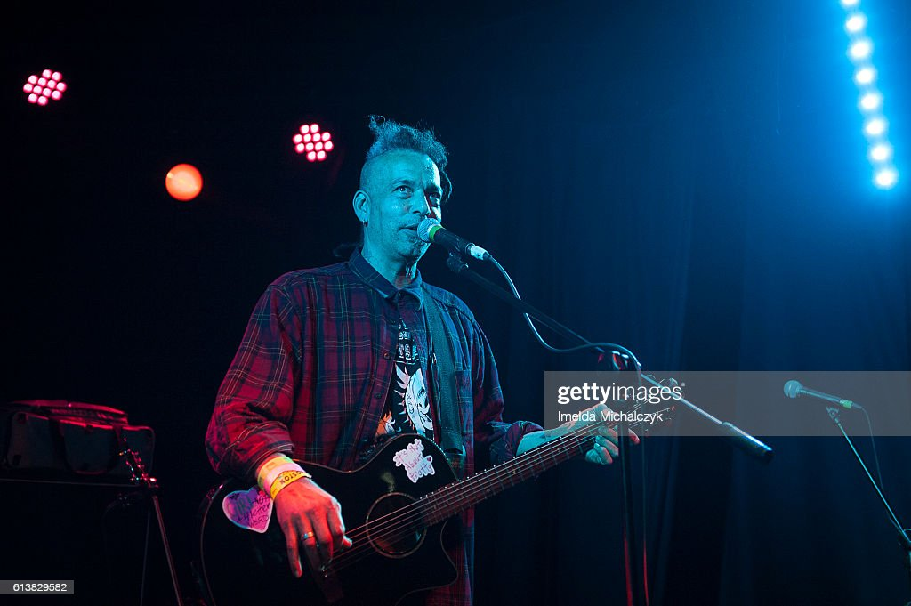 Chuck Mosley performs at Boston Music Room on October 10, 2016 in London, England.