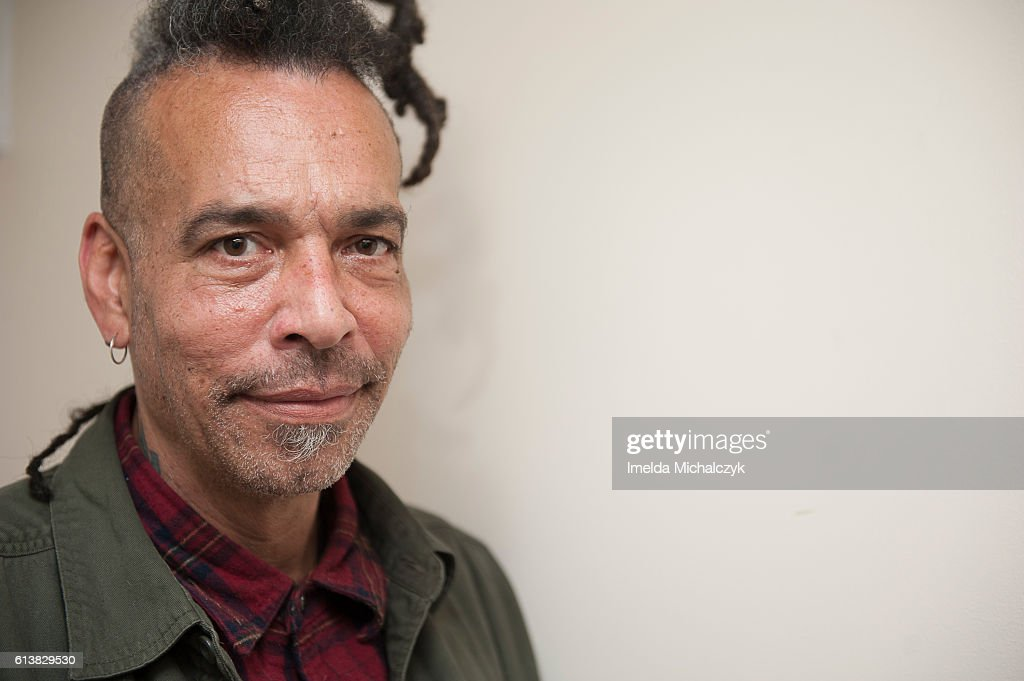 Chuck Mosley poses for portrait backstage at Boston Music Room on October 10, 2016 in London, England.
