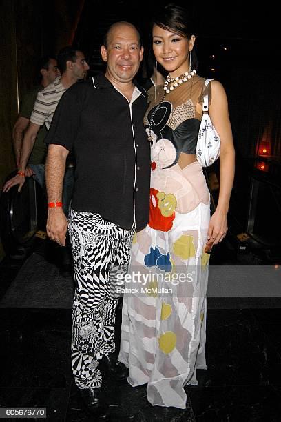 Chuck Nabit and Kurara Chibana Miss Japan attend Miss Universe Post Pageant VIP Party hosted by Chuck Nabit Dave Geller Ed St John Greg Barnhill...
