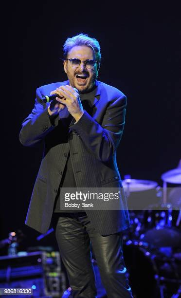 Chuck Negron formerly of Three Dog Night performs at the 2018 Happy Together Tour at Mayo Performing Arts Center on June 28, 2018 in Morristown, New...