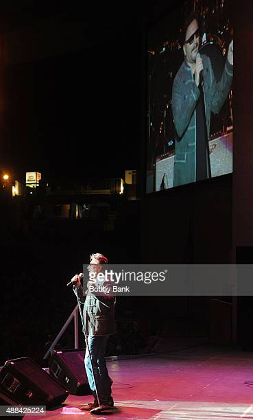 Chuck Negron formerly of Three Dog Night performs at the Garden State Arts Foundation 2015 Gala at PNC Bank Arts Center on September 15, 2015 in...