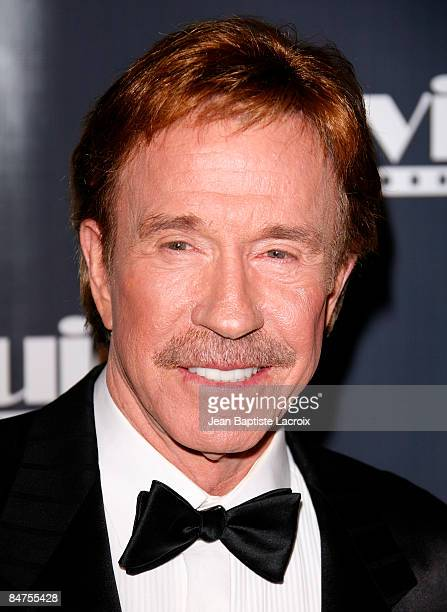 Chuck Norris arrives at the 17th Annual Movieguide Faith and Values Awards Gala at the Beverly Hilton Hotel on February 11 2009 in Beverly Hills...