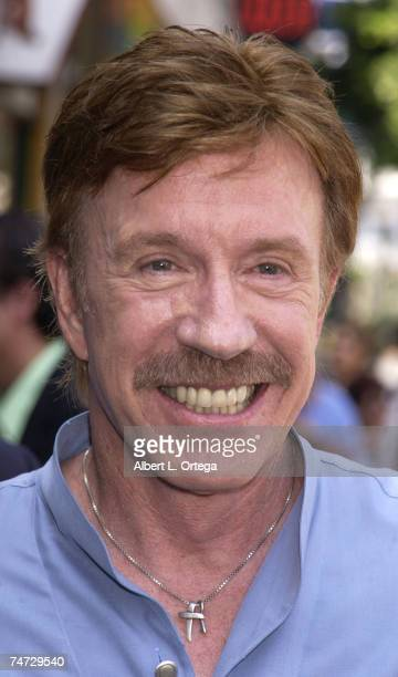 Chuck Norris at the Hollywood Boulevard in Hollywood California
