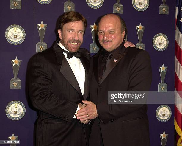 Chuck Norris Dennis Franz during 7th American Veteran Awards at Regent Beverly Wilshire Hotel in Beverly Hills California United States