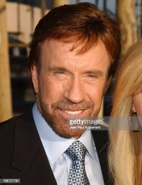 Chuck Norris during The Academy of Television Arts & Sciences 2004 Hall of Fame Induction Ceremony - Arrivals at ATAS Leonard H. Goldenson Theater in...