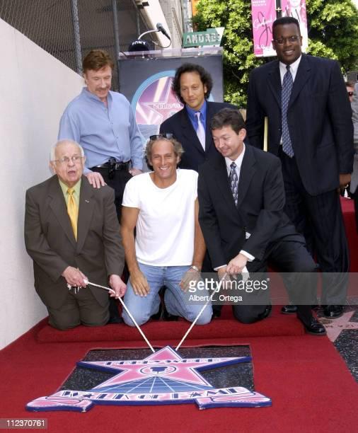 Chuck Norris Rob Schneider Johnny Grant Michael Bolton and Leron Gubler