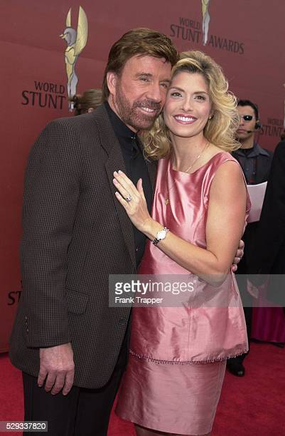 Chuck Norris with his wife Gina