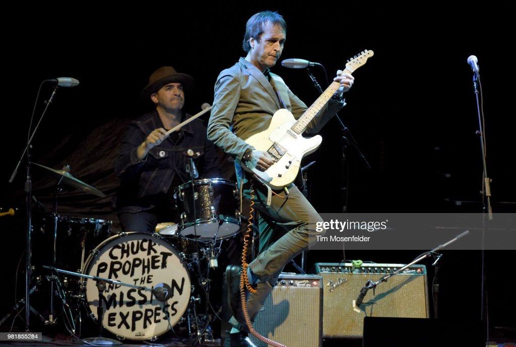 Chuck Prophet of Chuck Prophet and the Mission Express performs at The Masonic Auditorium on June 22, 2018 in San Francisco, California.