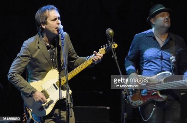 Chuck Prophet of Chuck Prophet and the Mission Express performs at The Masonic Auditorium on June 22 2018 in San Francisco California