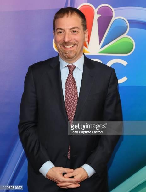 Chuck Todd attends NBC's Los Angeles MidSeason Press Junket on February 20 2019 in Los Angeles California