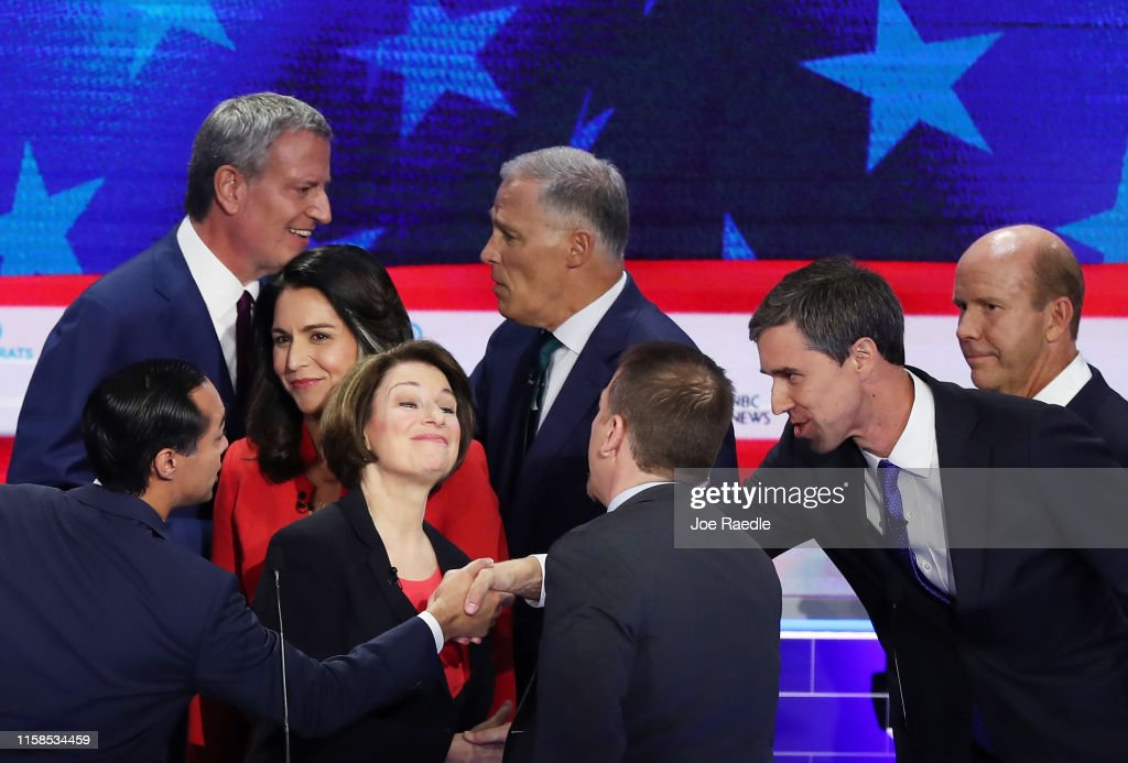 Democratic Presidential Candidates Participate In First Debate Of 2020 Election Over Two Nights : News Photo
