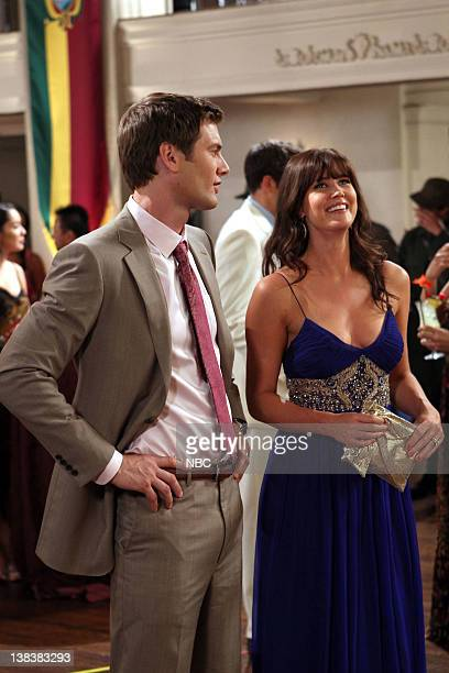 CHUCK Chuck vs The Coup D'Etat Episode 404 Pictured Ryan McPartlin as Devon Captain Awesome Woodcomb Sarah Lancaster as Ellie Bartowski