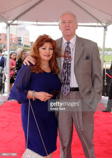 Chuck Wepner and Linda Wepner attend the 2017 New Jersey Hall Of Fame Induction Ceremony at Asbury Park Convention Center on May 7 2017 in Asbury...