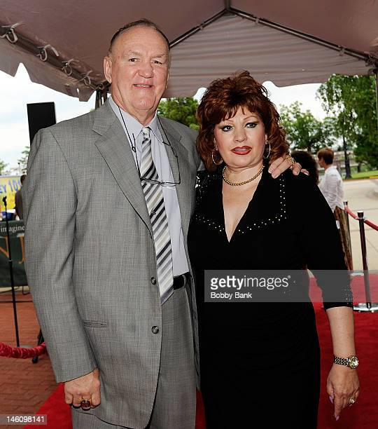 Chuck Wepner and Linda Wepner attend The 5th Annual New Jersey Hall Of Fame Induction Ceremony at New Jersey Performing Arts Center on June 9 2012 in...