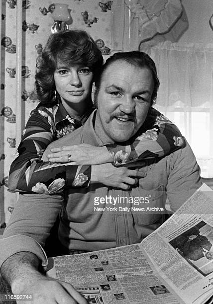 Chuck Wepner is ranked Number One at home with wife Phyllis